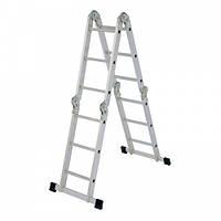 Лестница алюминиевая трансформер 3,5 м 4х3 ELKOP