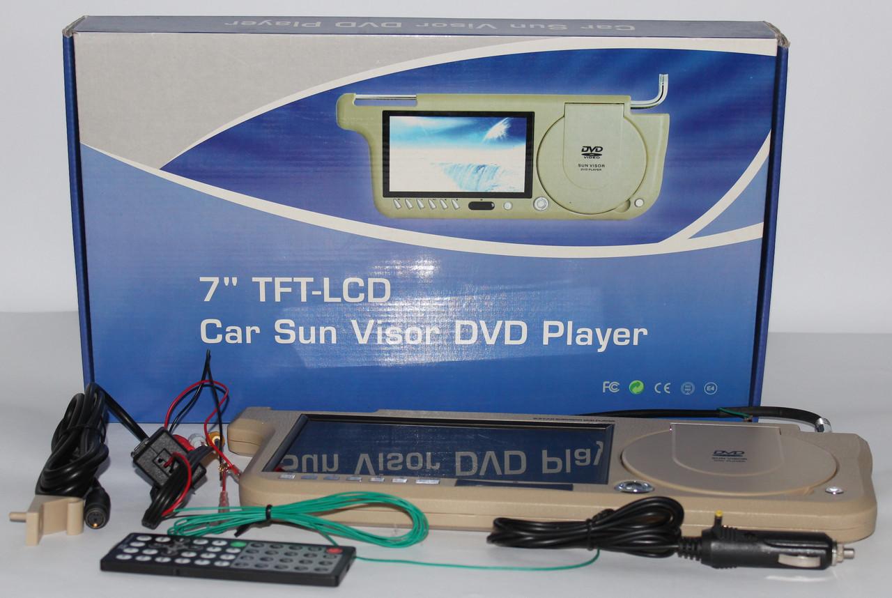 Авто DVD ТВ козырек солнцезащитный 8,5