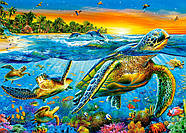 "Пазлы 180 элементов ""Морские Черепахи"", фото 2"