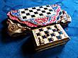 Шахматы-нарды-шашки подарочные + шкатулка для фигур, фото 5