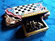 Шахматы-нарды-шашки подарочные + шкатулка для фигур, фото 6