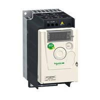 Перетворювач частоти 0.75 кВт 220В 1Ф Altivar 12 ATV12H075M2