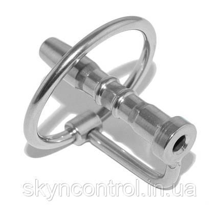 Катетер для пеніса з кільцем Sea x 10 Penis Plug Dilator with Ring Hollow, фото 2