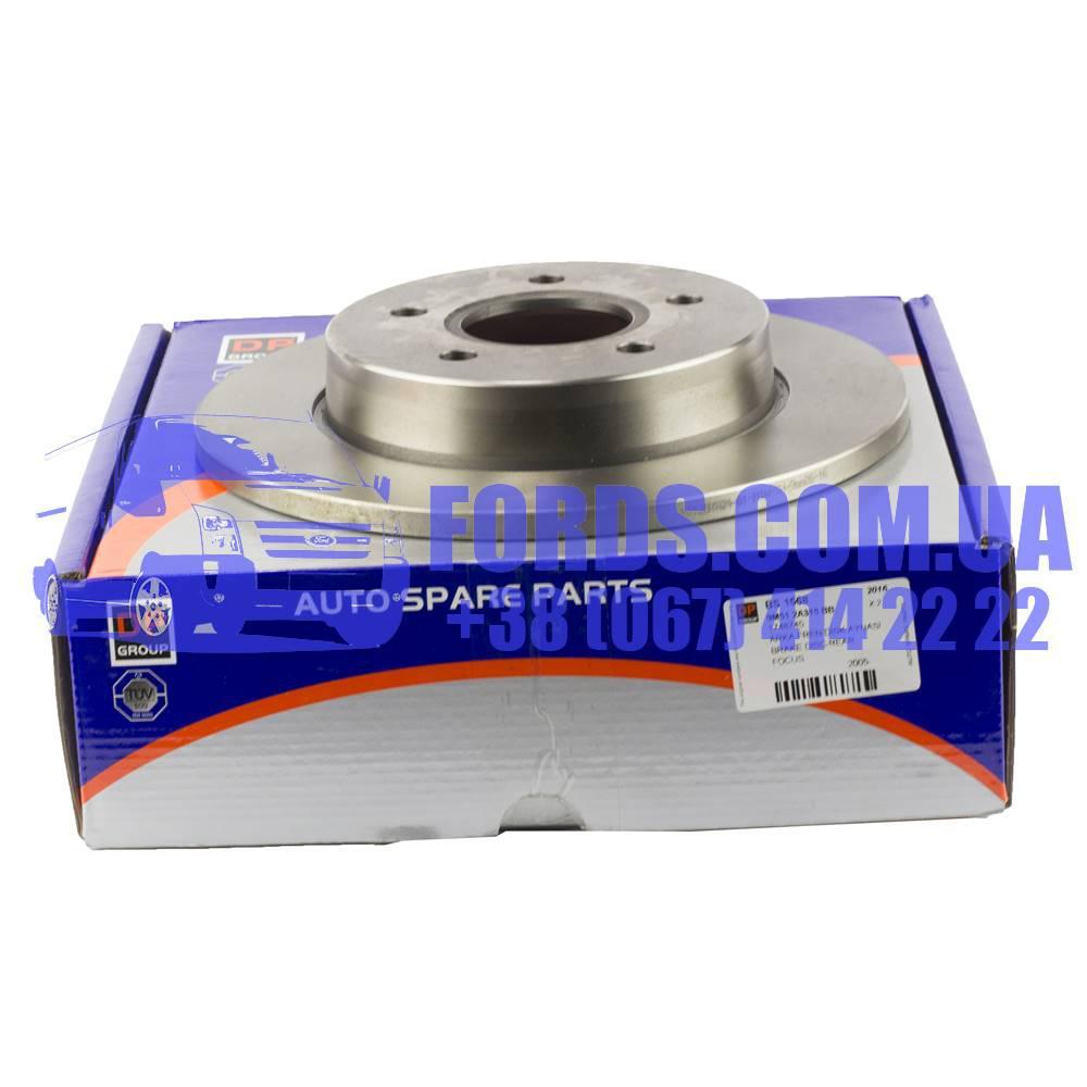 Диск тормозной задний FORD FOCUS/C-MAX 2003-2011 (1748745/9M512A315BB/BS1568) DP GROUP
