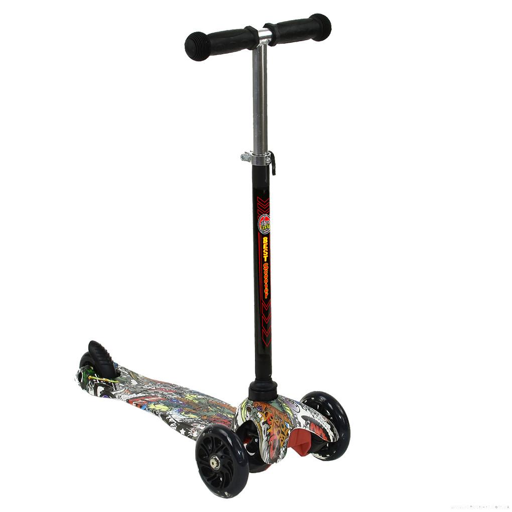 Самокат Best Scooter А 24710 /779-1234 Черный Mini 63883