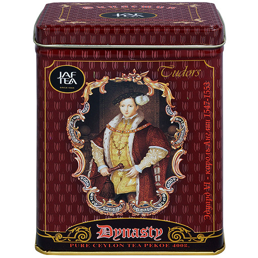 "Jaf Tea Черный чай ""Династия"" (Dynasty) жестяная банка 200 гр."