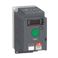 Перетворювач частоти 0.75 кВт 380В 3Ф Altivar 310 ATV310H075N4E