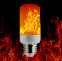 Светодиодная лампа имитация огня LM787 (1 режим) 3Вт Е27