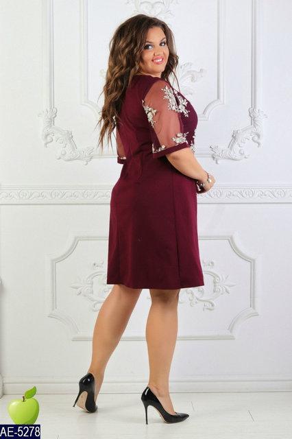 Нарядное женское платье размер 50,52,54,56