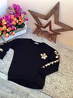 Батник для девочки Flower Оптом и в розницу Турция 6-14 лет  Little star, фото 1