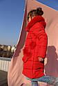 Полупальто детское Мелитта 2 К - Алый №204, фото 2