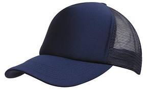 Кепка тракер с сеткой синяя Headwear proffesional - 00602