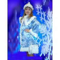 НА ПРОКАТ  Детский карнавальный костюм Снегурочки, р.32