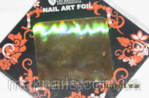 Фольга ля литья  в листе золото галография