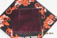 Фольга  для  литья и дизайна ногтей в листе . Бордо металлик