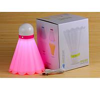 Волан - бадминтон - светильник, 4 цвета
