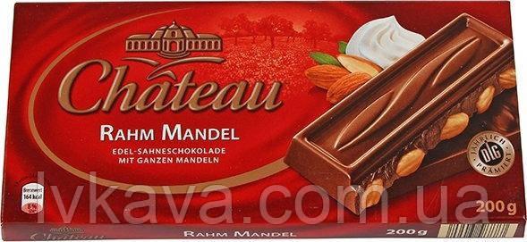 Молочный шоколад  Chateau Rahm Mandel , 200 гр