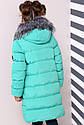 Пальто детское Полианна - Бирюза №626, фото 3