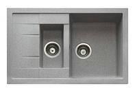 Гранитная кухонная мойка Longran Ultra ULS 780.500 15