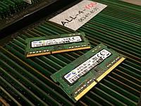 Оперативна пам`ять Samsung DDR3 4GB SO-DIMM 12800S 1.35V 1Rx8 1600mHz