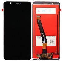 Дисплей Huawei P Smart FIG-LX1 Оригинал с сенсорным стеклом Черный