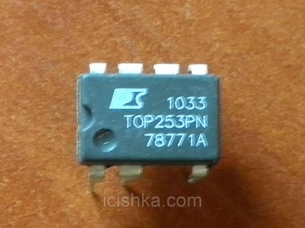 TOP253PN DIP7 - ШИМ контроллер для ИБП