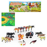 Игровой набор Домашние животные M0255 20 штук