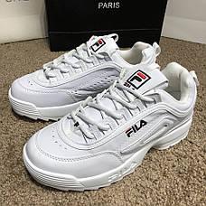 Мужские кроссовки Fila Disruptor 2 White, фото 2