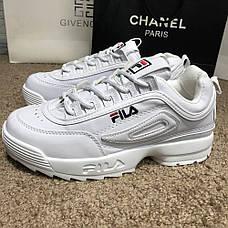 Мужские кроссовки Fila Disruptor 2 White, фото 3