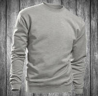 Свитшот мужской серый Stedman - 00772