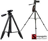 Штатив Тренога Трипод для Камеры Фотоаппарата А608 142см