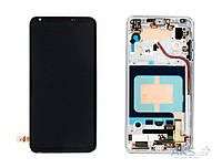 Дисплей LG V30 H930, H931, H933, LS998U, US998, VS996|Оригинал|с сенсорным стеклом и рамкой|Черный