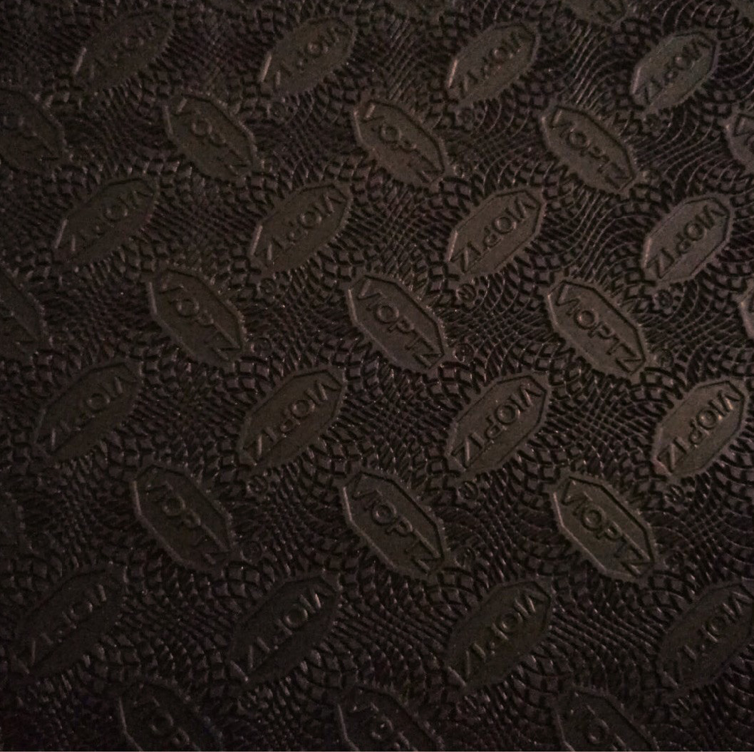 "Набоечная резина ""VIOPTZ"" 570mmx380mmx6,5mm темно-коричневая , премиум класса"