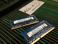 Оперативна пам`ять HYNIX DDR3 4GB 1Rx8 SO-DIMM PC3 12800S 1600mHz Intel/AMD
