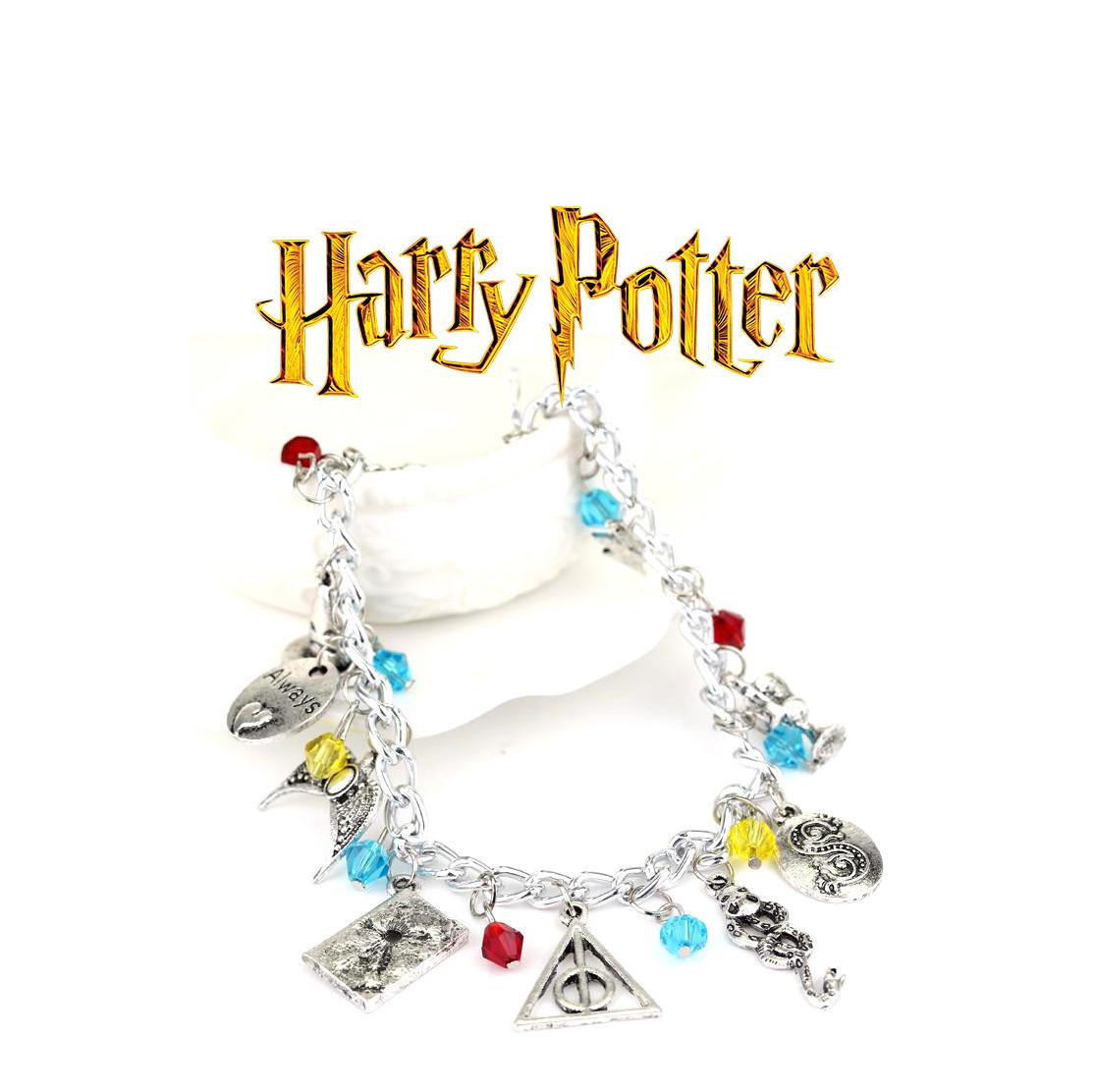 Браслет с подвесками из Гарри Поттера