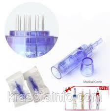 Насадки сменные на дермаштамп Dr. pen А1-W. Стерильные картриджи для дермаштампа на 36 игл