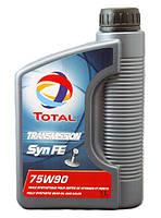 Трансмиссионные масла TOTAL TRANSMISSION SYN FE 75W-90 1L