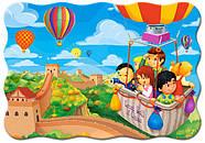 """Пазлы 30 элементов """"Полёт на воздушном шаре"""", фото 2"""
