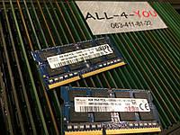Оперативна пам`ять HYNIX DDR3 4GB SO-DIMM 1.35V 2Rx8 PC3L 12800S 1600mHz Intel/AMD