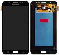 Дисплей Samsung Galaxy J7 2016 J710F, J710FN, J710H, J710M|Оригинал|с сенсорным стеклом|Черный
