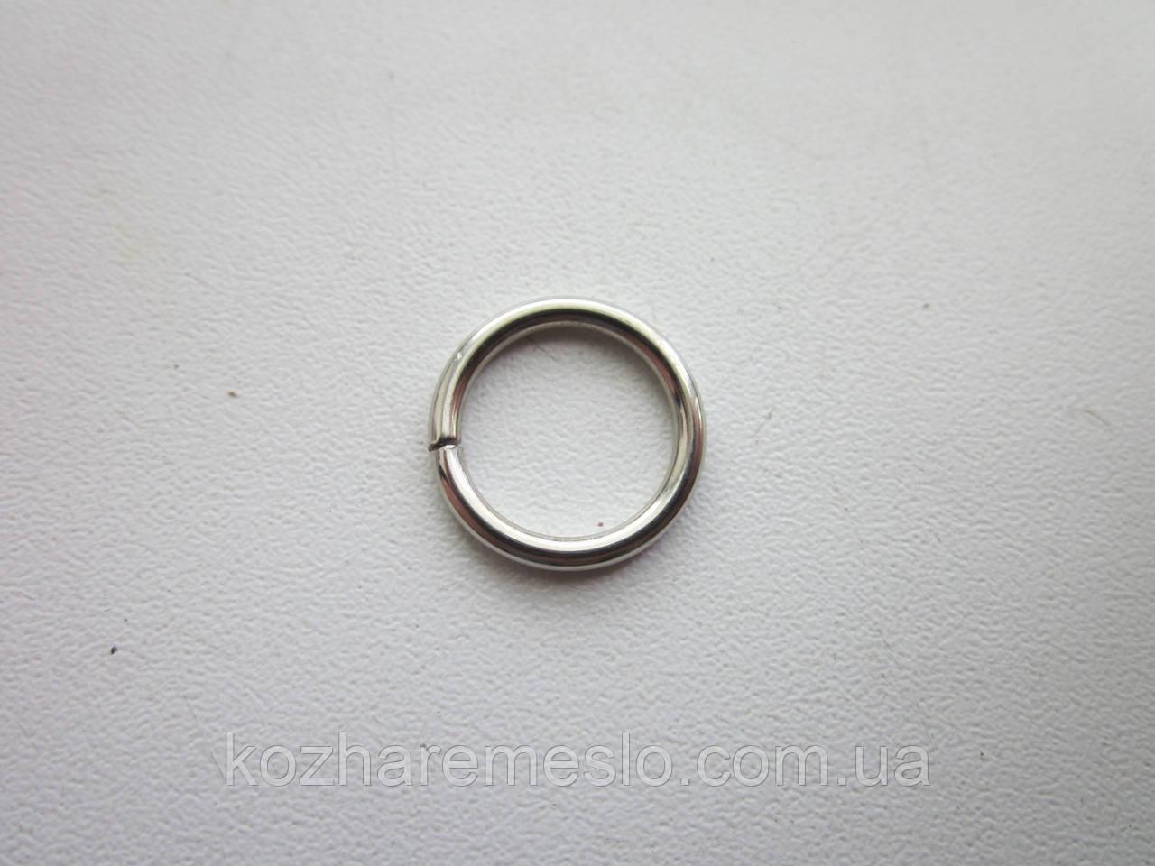 Кольцо проволочное 1.5  х 8 мм никель