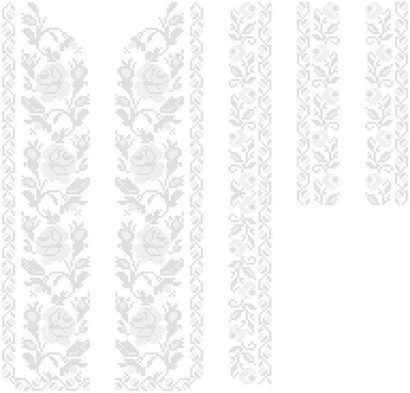 "Заготовка на вышивку вставки на одежду №22 - Интернет-магазин ""Скарбничка рукодільниці"" в Киеве"