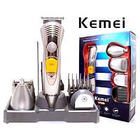 Машинка для стрижки волос и бороды KEMEI 7в1
