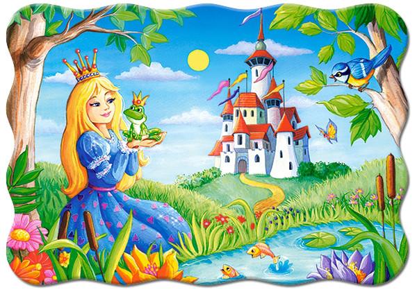 """Пазлы 30 элементов """"Принцесса и лягушка"""""""