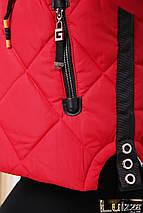 Молодежная утепленная куртка 42-48 рр черная, фото 3
