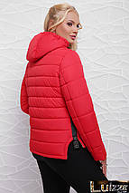 Молодежная утепленная куртка 42-48 рр салат, фото 3