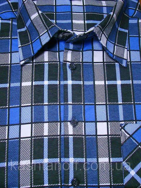Тёплая мужская рубашка