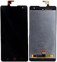 Дисплей ZTE Nubia Z7 Max Оригинал с сенсорным стеклом Черный