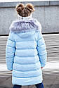 """Зимнее пальто """"Полианна"""" Nui Very c накладными меховыми карманами Размеры 116- 158, фото 3"""