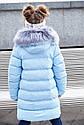 """Зимнее пальто """"Полианна"""" Nui Very c накладными меховыми карманами Размеры 122 128 134, фото 3"""